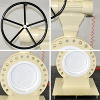 pneumatic 1 inch butterfly valve For oil and gas