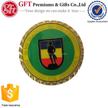 Free atwork design custom made badge fund raising challenge coin