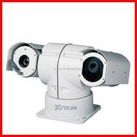 High Quality 500m Night Version Laser and IR Vehicle CCTV Security PTZ Camera