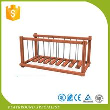 Commercial Wood Outdoor Children Playground Plans Equipment