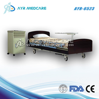 AYR-6523 High Quality Electric Wood Home Care Five Functions Bed