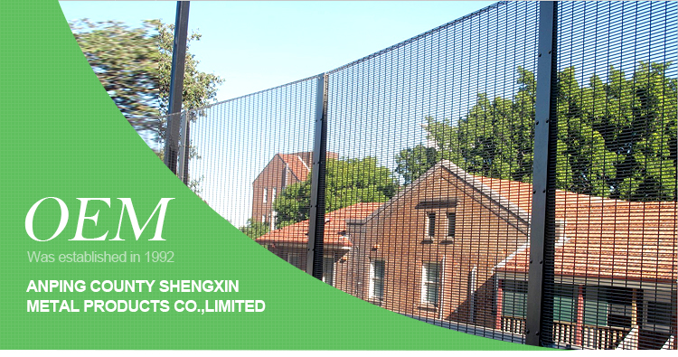Anping factory hot selling anti climbing safety fence system