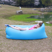 2016/2017 New Coming Inflatable Sleeping Bag Sofa/ Bed Air Bag,inflatable outdoor lounger Lamzac Filling air bean bag inflatable