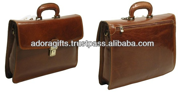 High demand export products genuine leather laptop bag products made in india