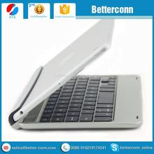 Silver Aluminum Bluetooth 3.0 Wireless Keyboard Holder Case Cover for iPad Mini