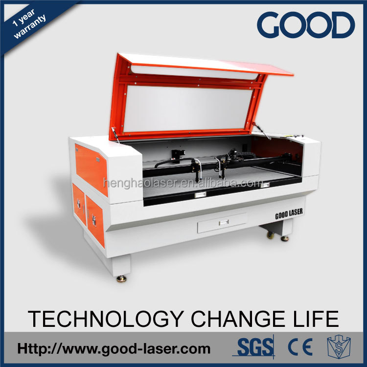 CNC 1000*800mm CO2 Laser, Top Quality High Speed Laser Wood Products Laser Cutting Machine