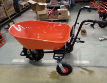 250W 120kgs load capacity electric barrow,wheel barrow,electric wheel barrow