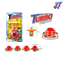 Spinning top toy flash top