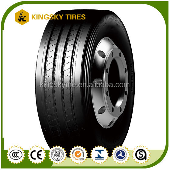 Truck Tires Neumaticos De Camion, kingsky 11r22.5 With Dot In Peru
