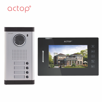 China manufacture ACTOP wired smart video door bell