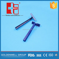 Factory Supply Disposable Razor For Shaving With Bule Colour