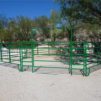 Hot air circulation 5 x 10 cattle panels