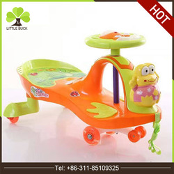Wholesale all kinds kids ride on toy cars, baby children swing car ,Eco-friendly kids pedal car cheap baby soft toy