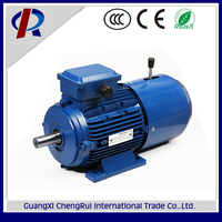 MSEJ8012 high quality 750w 1hp induction three phase small ac brake high torque 1hp electric motor