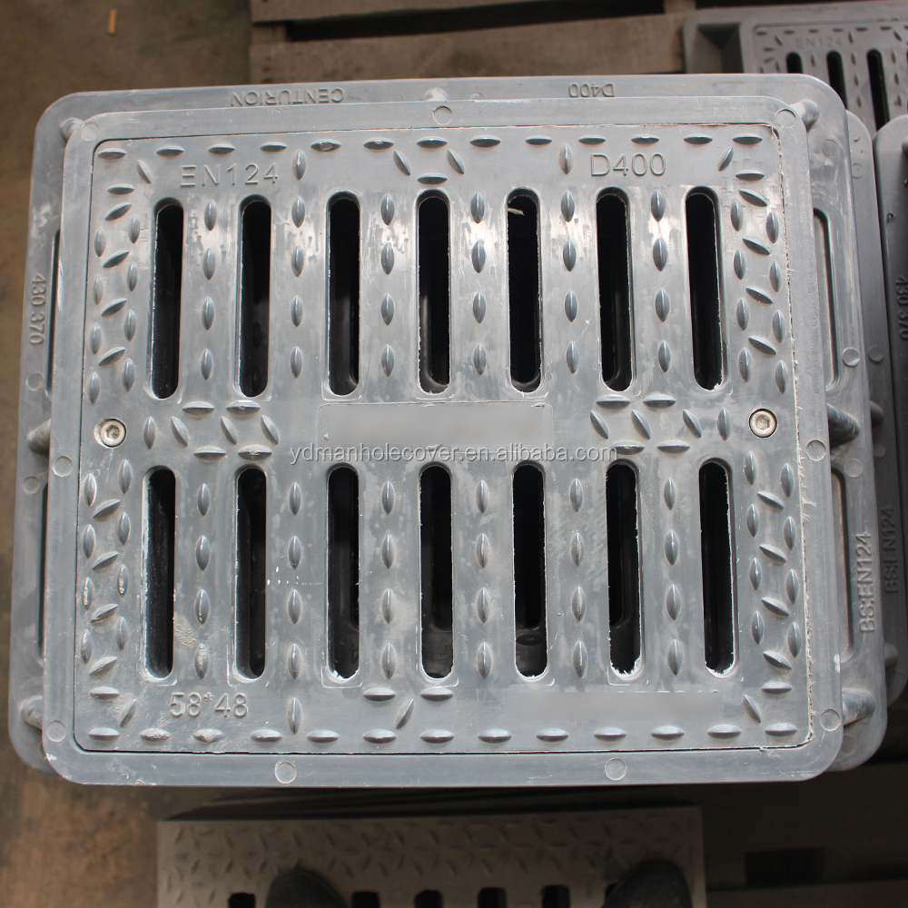 concrete grating drain sewer cover