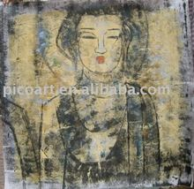 buddha painting,canvas painting