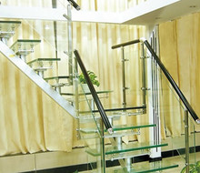 Staircase Railing Tempered Glass