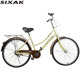 "popular lady vintage bike city 24"" 26"" new model women city bike for with basket"