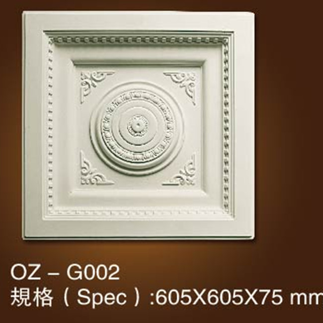 PU decorative ceiling medallions rectangle,square ceiling medallion