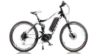 27,5 Bafang mid motor MTB montain e-bike with full suspension