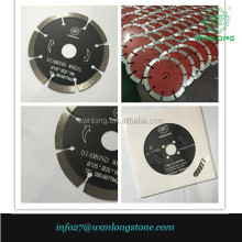 110mm 4.3inches diamond dry cutting blade for concrete, ceramic tile, hard grainte, brick, slab