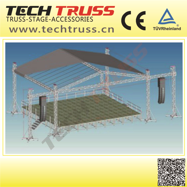 Circle Single Connection Bar China Truss for Display