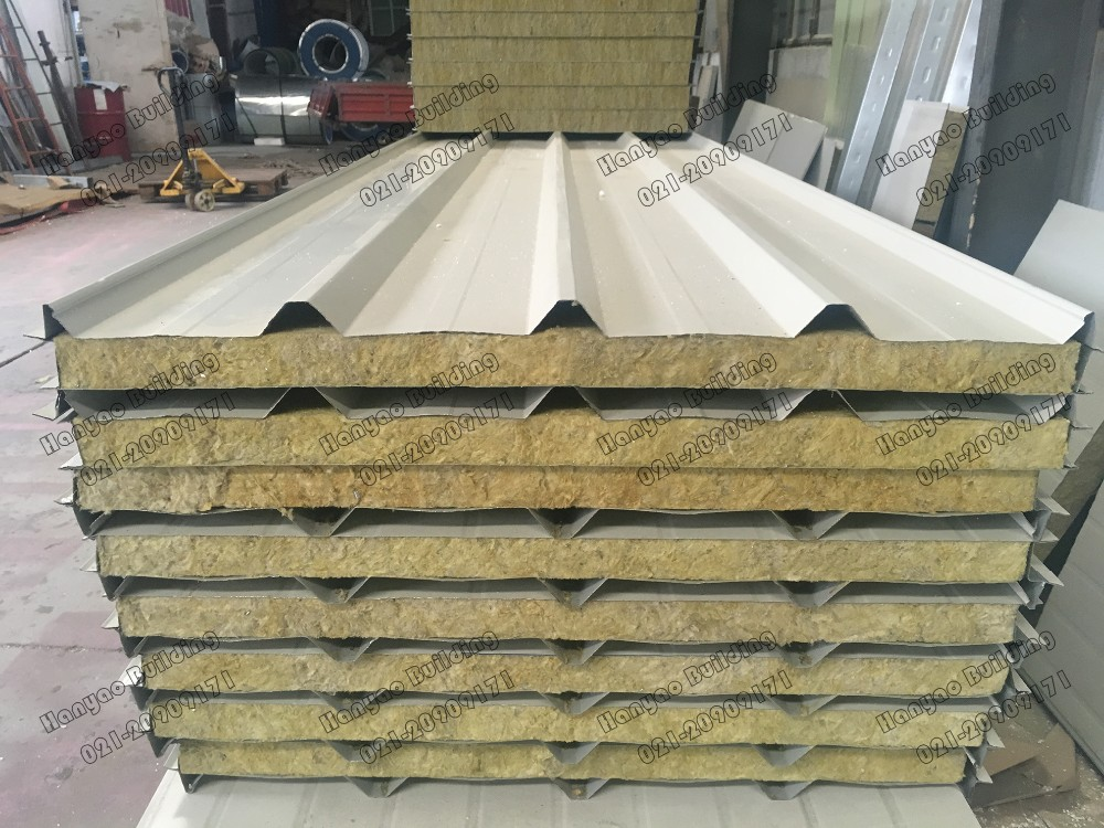 Shanghai Hanyao Light Weight Eps Aluminum Sandwich Panel