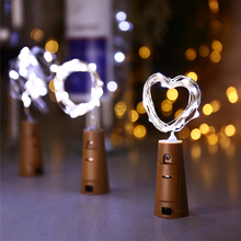 Wine Bottle Copper Wire led bottle copper string light fairy lights