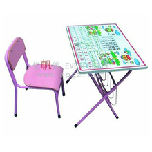 children furniture pink children desk chair , folding single kids table and chair