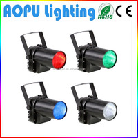 American DJ 10w led pin spot rgb mini stage light