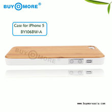New inventions wholesale OEM wooden case for apple iphone5,for Apple iPhone 5 Wood mobile Phone Case