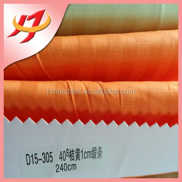 Yarn Dyed wholesale customized 100% cotton 1cm striped Fabric factory