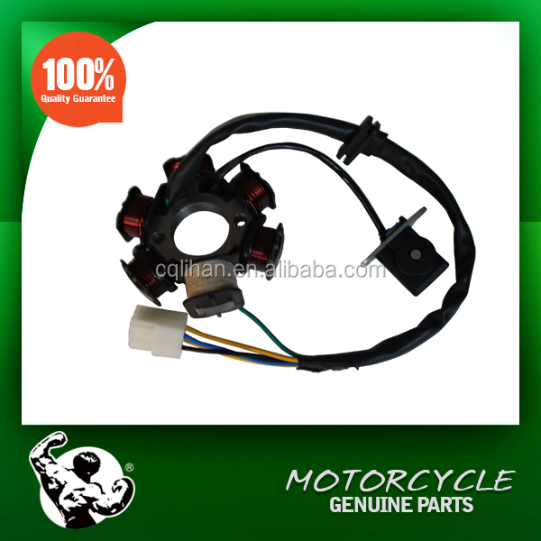 High Quality Motorcycle Parts GY6 125cc 6 Pole Magneto Stator Coil