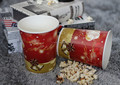 disposable paper cups for popcorn container