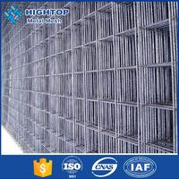 10x10 concrete reinforcing stainless rebar welded wire mesh panel with good price