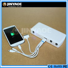China emergency battery booster pack 12v output voltage portable power bank