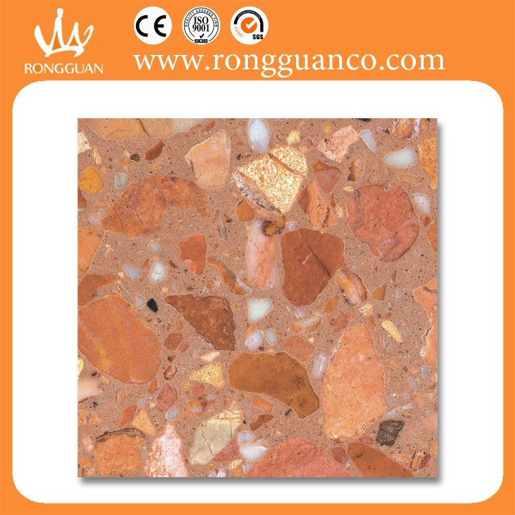 red color marble new design stone