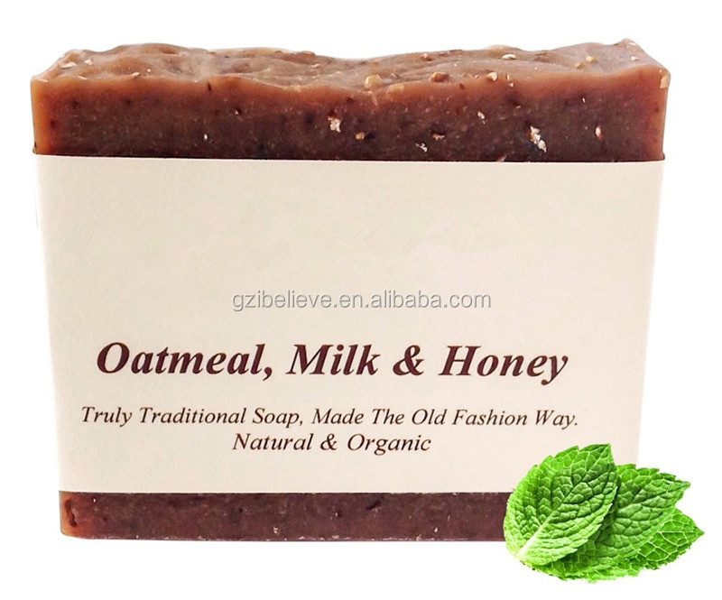 Natural oatmeal goat milk soap