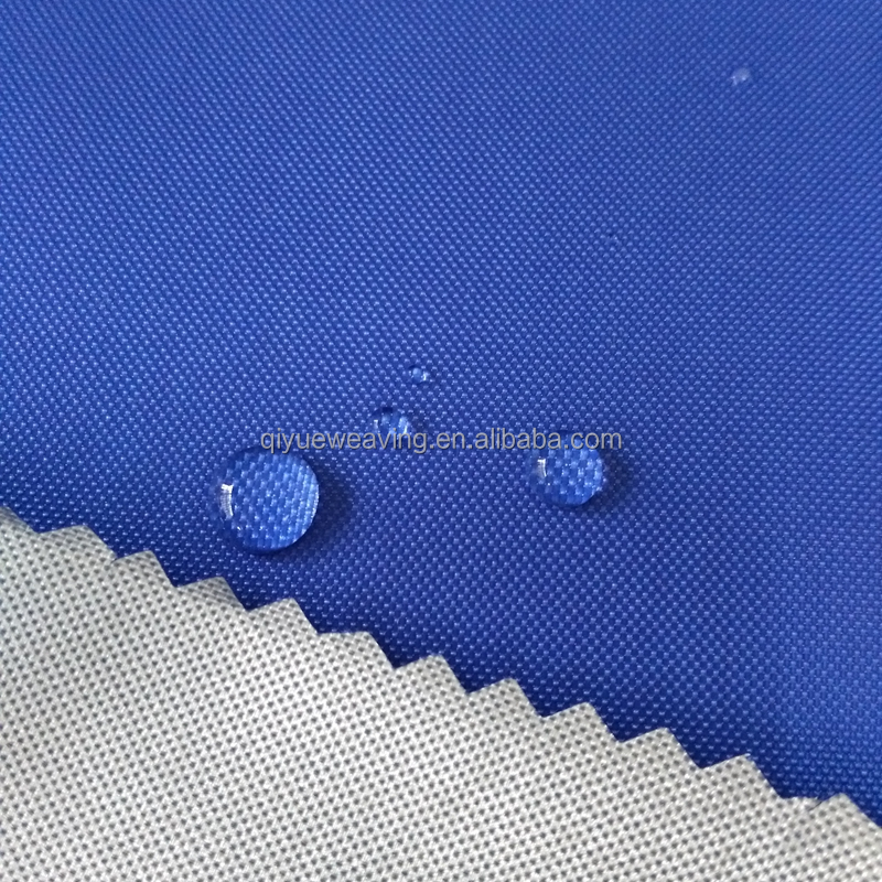 QY-S1221# 200d polyester oxford fabric manufacturer pu coated/waterproof 210d polyester oxford fabric