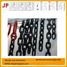 Industrial G80 Lifting roller Chain for chian block , Heavy Duty Lift Chain
