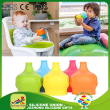 2017 Good design hot sale safe and health silicone custom sippy cup lid for kids