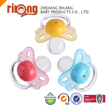 Free Sample New Breastfeeding Babies Products Safety Silicone Baby Pacifier
