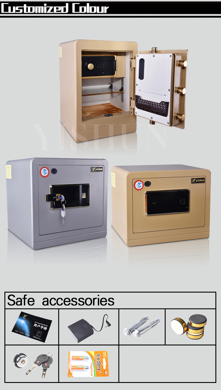 Luxury electronic digital safe gun jewelry home secure for Luxury home safes