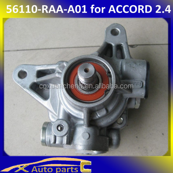 2014 popular power steering pump for honda ACCORD 2.4 56110RAAA01 56110-RAA-A01