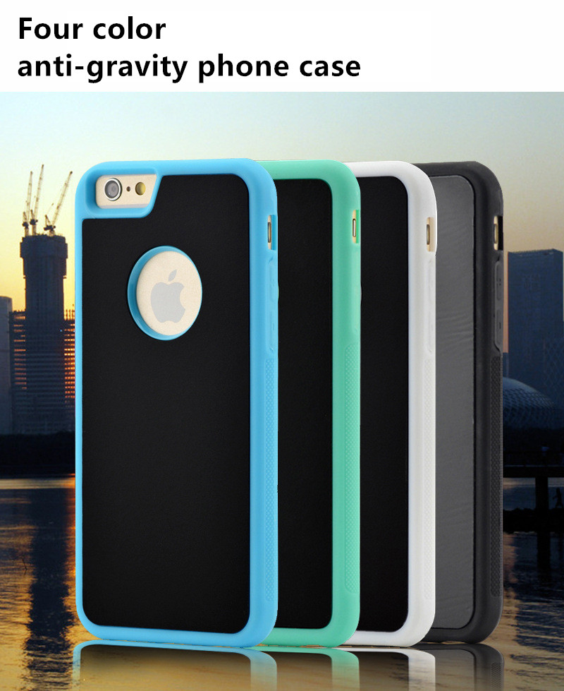 2016 new wholesale arrival anti gravity sticky mobile phone case for iphone 6s case
