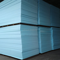 20MM 25MM Floor heating insulation XPS extruded polystyrene foam board blue foam
