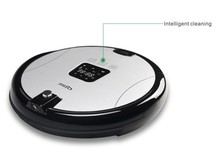 Gold newest deebot robot vacuum cleaner voice prompt robot quiet robotic vacuum cleaner battery