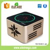 2017 new arrival colorful Luxurious wireless portable bluetooth speaker, metal subwoofer speaker mini mobile phone