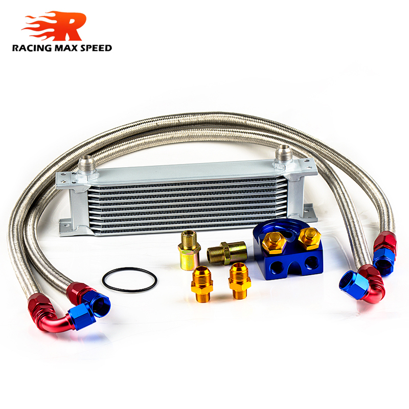Racing Transmission Fluid Cooler : Wholesale universal racing car row transmission oil