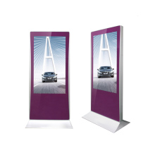 55'' floor standing digital advertising display for hotel/airport/restaurant/bar bathroom/restrooms